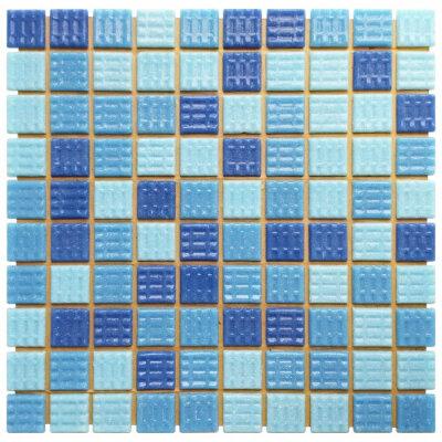 Мозаика стеклянная для бассейна Aquaviva YF-MSL39