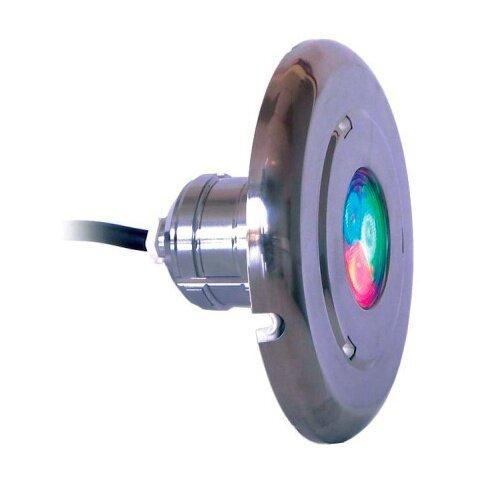 "Светильник ""Astralpool LUMIPLUS MINI 2.11"" Белый 4Вт/12В, накладка AISI-316, каб. 2,5м, плитка"