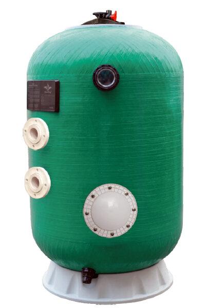 """Фильтр шпул.навивки Д. 800мм,25м3/ч,выс.1м;доп.опции, бок. подкл. 2""""POOL KING/HK15800Aтд/без вентиля"""