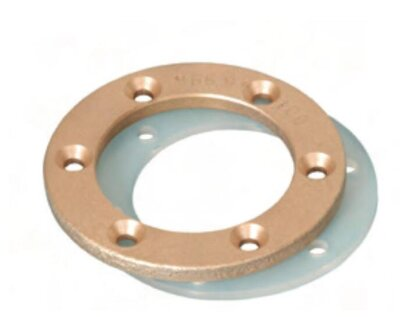Фланец Standart RG-бронза для пленочного бассейна, Hugo Lahme 8669550