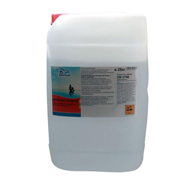 pH-минус жидкий 35 кг, Chemoform