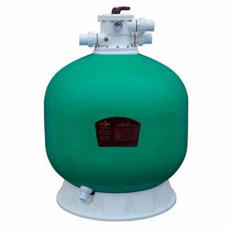 Фильтр Pool King д 750 мм, 23 м3/ч с верхним подключением/KP750