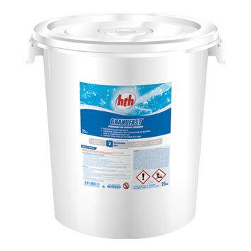 Хлор в гранулах GRANUFAST 25 кг, HTH