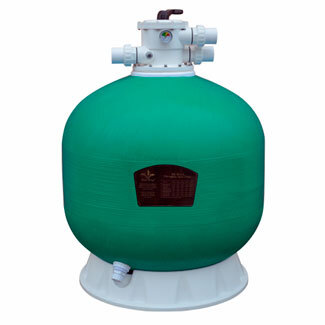 Фильтр Pool King д 800 мм, 25,2 м3/ч с верхним подключением/KP800