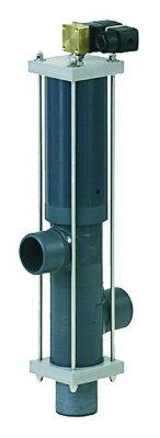 Вентиль автоматический 3-х поз. DN125/d.140 мм, пневмопривод, с электромаг. кл-ном 230 В Besgo