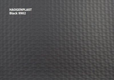 "Пленка ПВХ 1,65х25,00м ""Haogenplast Unicolors"", Black, черный /9902"