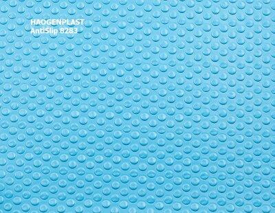 """Пленка ПВХ 1,65х10,00м """"Haogenplast Unicolors"""", Blue, синий, ребристая /8283"""