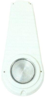 Светильник навесной 2х75Вт/12В, кожух термопласт, основ. нерж.сталь AISI-316, кабель 2м