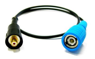 Соединительный кабель 0,5 м. RG174 D3,. Etatron