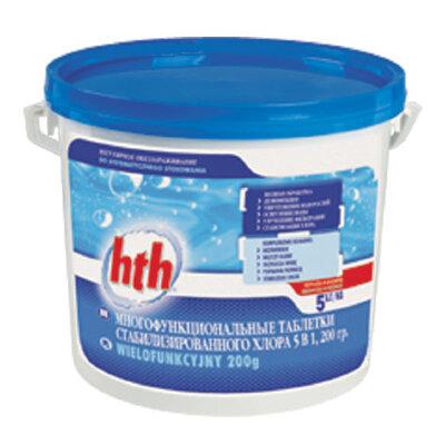 Таблетки хлора 200 гр. MAXITAB ACTION 5 1,2 кг, HTH
