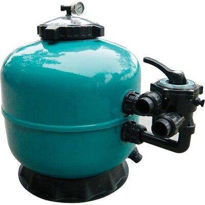 Фильтр Pool King д 700 мм, 19 м3/ч с боковым подключением/LS700