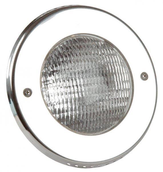 Светильник галоген.Vitalight 300Вт,12В, накладка AISI-316L, корпус RG-бронза, бетон, каб. 2м