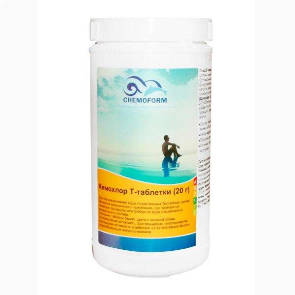 Кемохлор Т таблетки 20 гр 1 кг, Chemoform