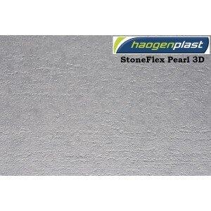"""Пленка ПВХ 1,65х25,00м """"Haogenplast StoneFlex"""", Pearl-3D, перламутровый-3D"""