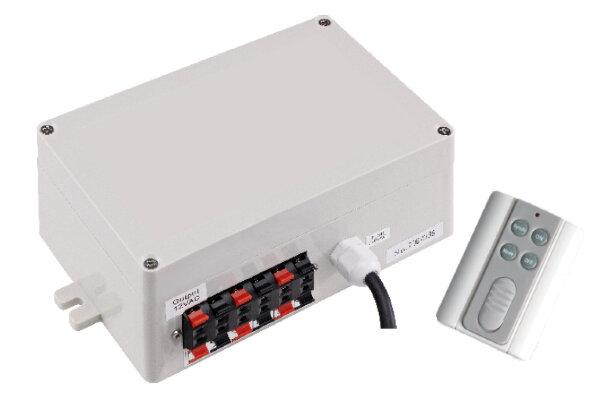 Панель управления LED светильниками со встроен. трансформ. 100Вт 12В AC и пультами