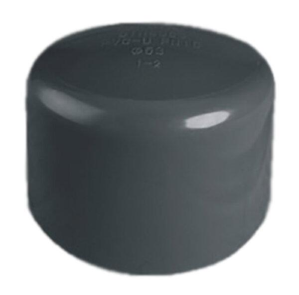 Заглушка ПВХ 1,0 МПа d_ 63мм