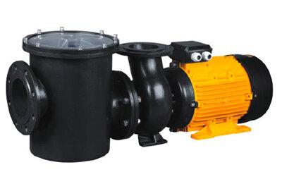 Насос CFRP с префильтром чугунный 240-280 м3/час, 380В, 18,5кВт P-King