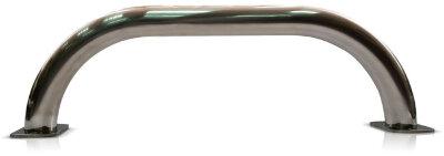 Поручень стеновой c фланцем 0,5м из нерж. стали AISI-304 FIBERPOOL