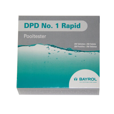 Таблетки DPD 1 Rapid 10 шт, Bayrol