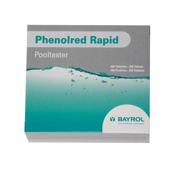 Таблетки Phenol Red Rapid 10 шт, Bayrol