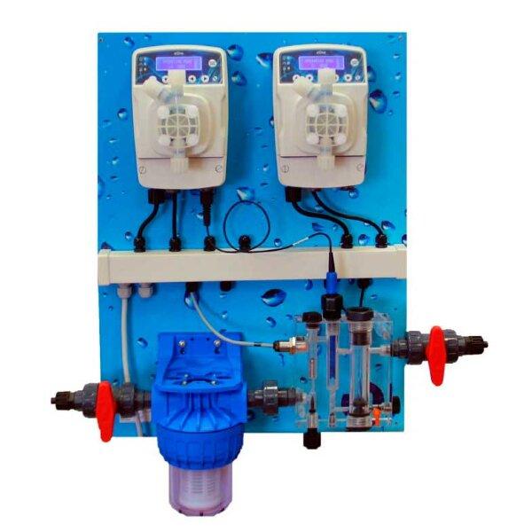 Станция дозации eOne Guard 3 pH/Cl Panel (SCL) 0-2 ppm, Etatron