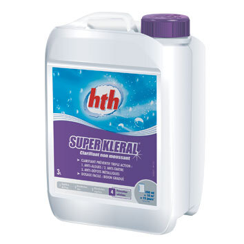 Кристальная вода 3 в 1 SUPER KLERAL 3 л, HTH