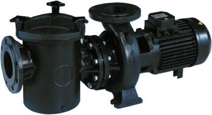 """Насос """"Kripsol Kriptоn KRF-760В-Т2.В"""" с префильтром 121 м3/ч 380 В, 7 кВт, чугун с брон. крыльч"""