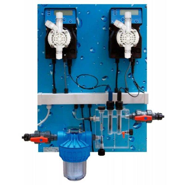 Станция дозации Pool Guard 3 pH/Cl Panel (SCL) 0-2 ppm, Etatron