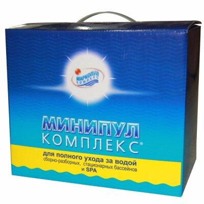 Набор химии для бассейна Минипул комплекс 5,5 кг