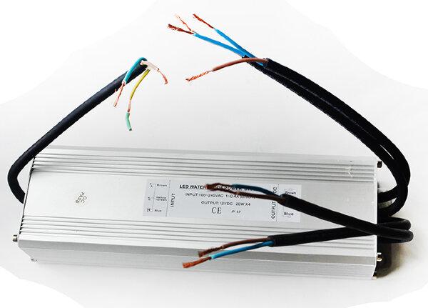 Трансформатор 100Вт/12В для 4-х белых светодиодных свет. 20(15,12)Вт типа TLOP