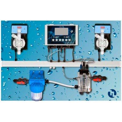 Станция дозации Pool Guard 7 pH/Cl/T Panel (Sonda Cl), Etatron