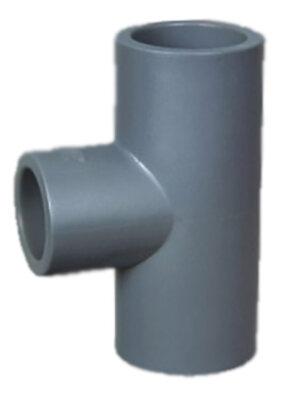 Тройник редукционный 90 ПВХ 1,0 МПа d.75*50мм