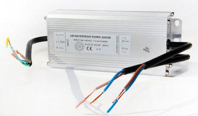 Трансформатор 36Вт/12В для 2-х белых светодиодных светильников 15(12)Вт типа TLOP