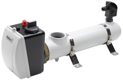 Водонагреватель Pahlen 3кВт с датчиком потока, термостатом, реле перегрева,220/380V