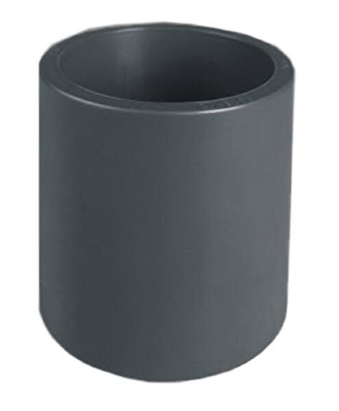 Муфта ПВХ 1,0 МПа d.25мм