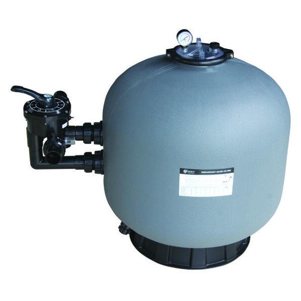 Фильтр SP650 (15,3m3/h, 627mm, 145kg, бок)
