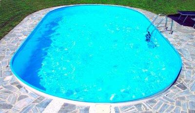 Бассейн овальный Summer Fun  ( 8,00 х 4,00 х1,50) /4501010249EB