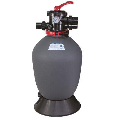 """Фильтр T450 (8m3/h, 450mm, 75kg, верх) 1.5"""" valve, 4 bar"""