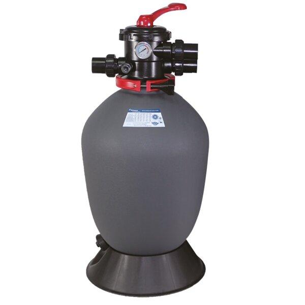 """Фильтр T500 (10m3/h, 500mm, 95kg, верх) 1.5"""" valve, 4 bar"""