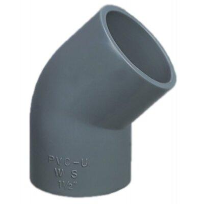 Угол 45° ПВХ d. 160 мм, P.King
