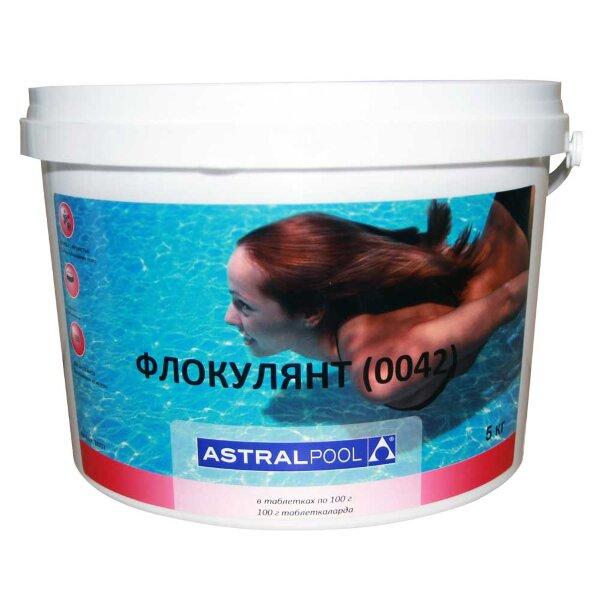 Флокулянт таблетки 100 гр, 5 кг, Astralpool
