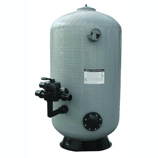 Фильтр глубокой фильтрации SDB800-1.2 (20m3/h, 1,2m, 914kg, 63mm, бок), Aquaviva