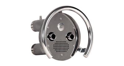 Противоток 75 м3/ч - 2 сопла (закладная деталь с лицевой панелью и сенсорной пьезокнопкой)/ПТ.75.1