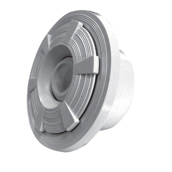 Форсунка стеновая, бетон, подкл. 57 мм (в трубу d. 63 мм), Fiberpool