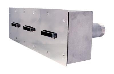 Противоток 150 м3/ч - 3 сопла (закладная деталь с лицевой панелью) /ПТ.150.0/