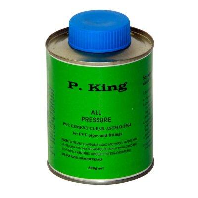 Клей ПВХ 500 гр, P.King