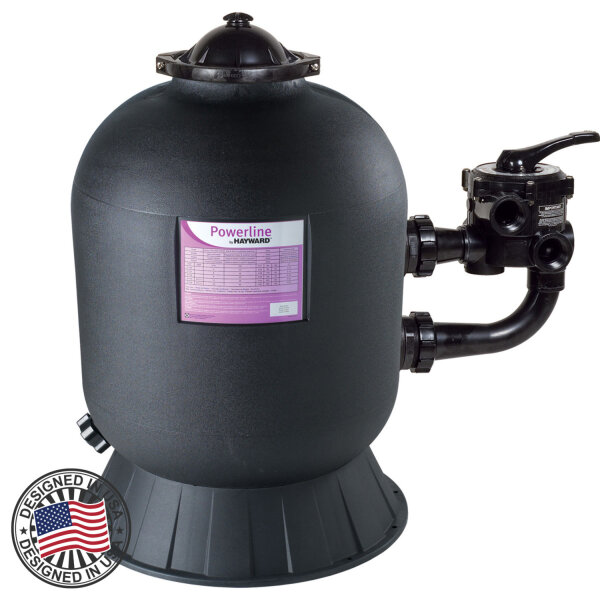 Фильтр Hayward PWL D511 81113 (10m3/h, 511mm, 100kg, бок)