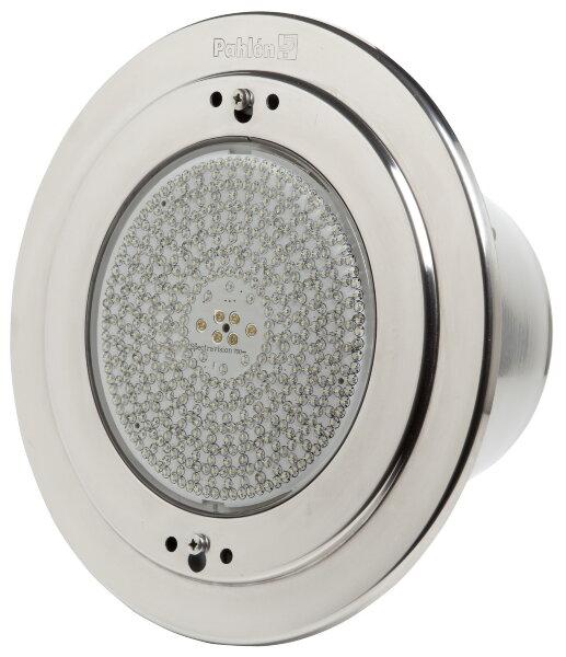 Светильник встраиваемый п/бетон 28Вт/12В с LED белый, нерж.сталь AISI-316, кабель 3м