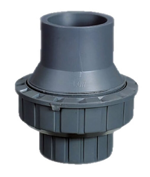 Обрат.клапан 1-муфтовый подпружиненный ПВХ 1,0 МПа d.32 мм