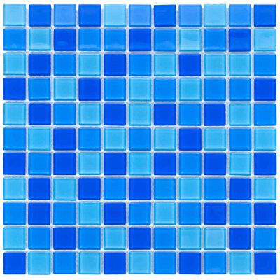 Мозаика для бассейна стеклянная Aquaviva Сristall Jamaika светлая DCM302